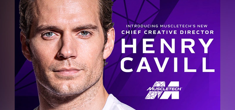 Henry Cavill Partners With Muscletech